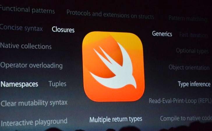 Apple's New Swift Programming Language. Goodbye Objective-C