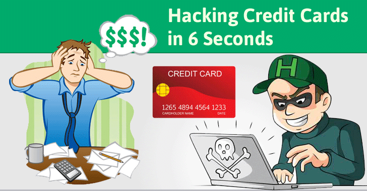 Experts Explain How Hackers Can Hack Your Credit Cards In Seconds