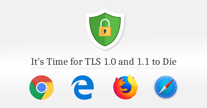 Chrome, Firefox, Edge and Safari Plans to Disable TLS 1.0 and 1.1 in 2020