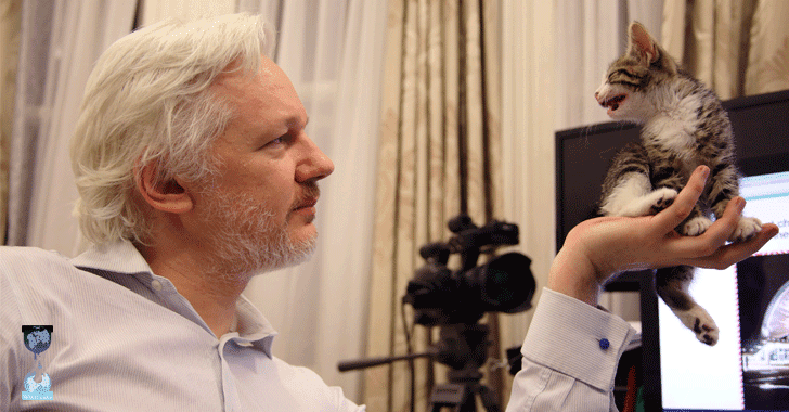 Julian Assange is not Dead, but his Internet Connection is Cut by 'State Party'
