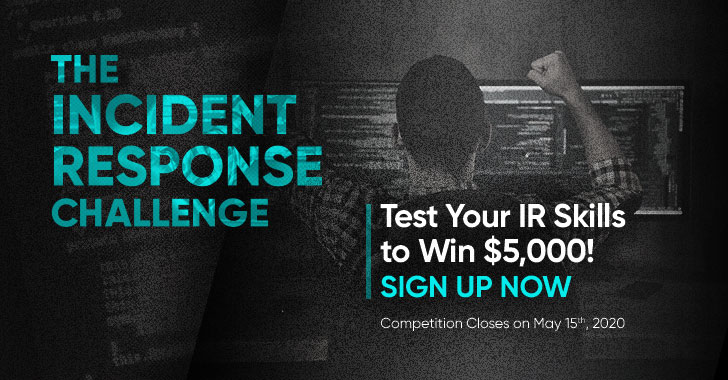 The Incident Response Challenge 2020 — Win $5,000 Prize!