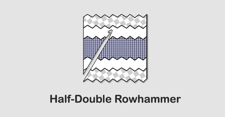 Half-Double Rowhammer technique