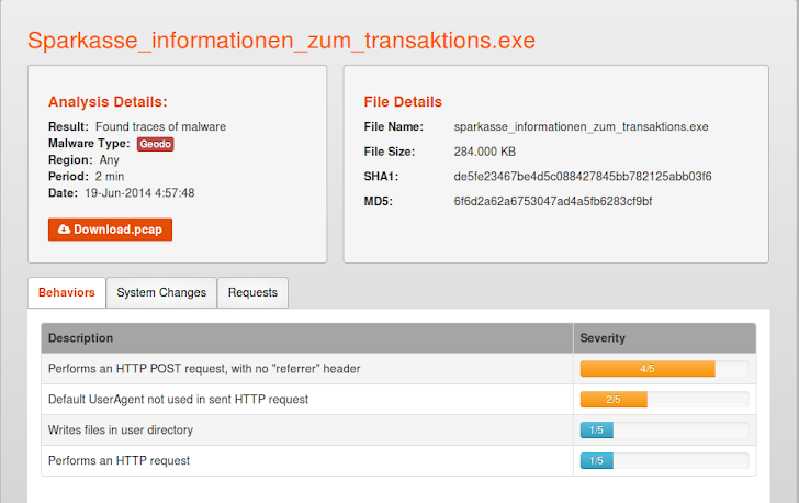 New Cridex Banking Trojan variant Surfaces with Self-Spreading Functionality