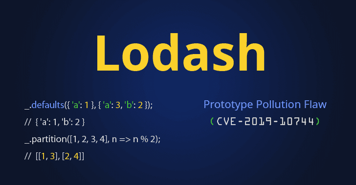Unpatched Prototype Pollution Flaw Affects All Versions of Popular Lodash Library
