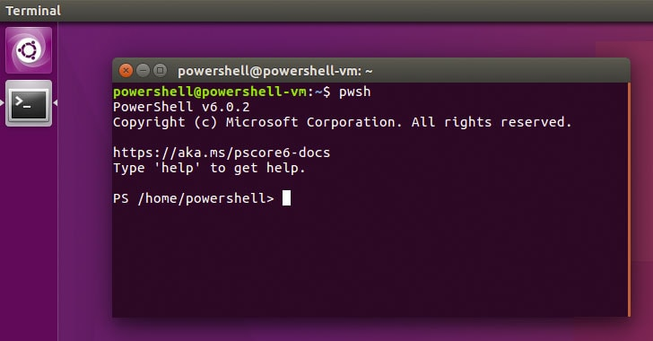 PowerShell Core on Linux Snap Package