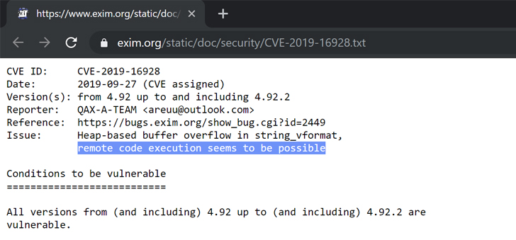 hacking exim email server