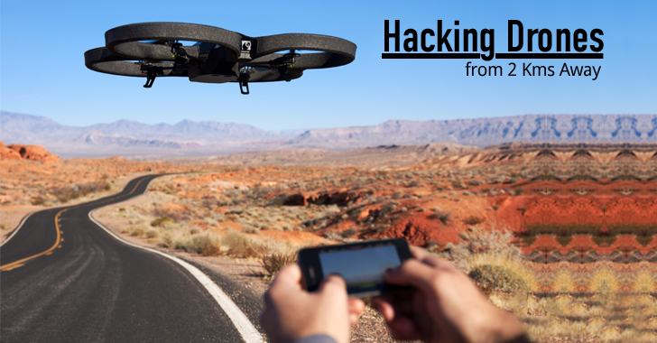 Hacker Hijacks a Police Drone from 2 Km Away with $40 Kit