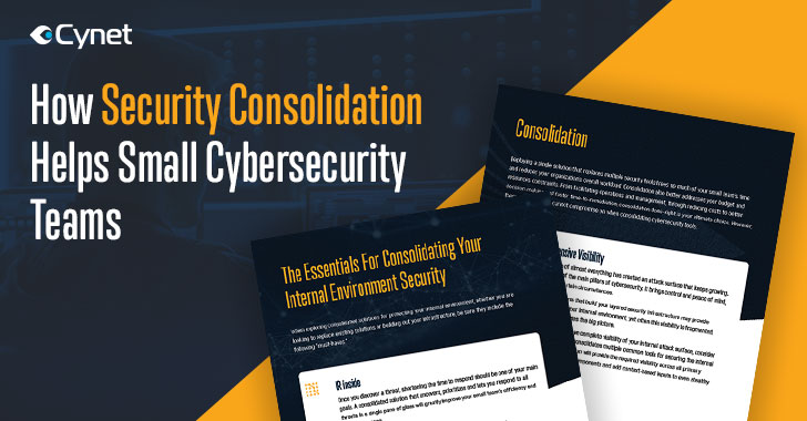 Guide: How Security Consolidation Helps Small Cybersecurity Teams