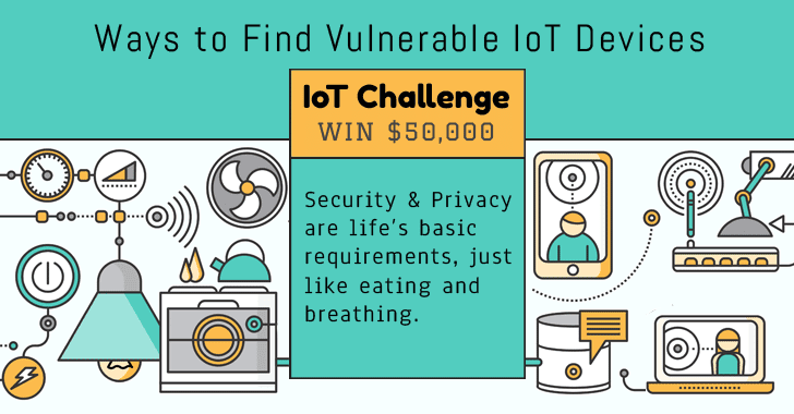 Challenge! WIN $50,000 for Finding Non-traditional Ways to Detect Vulnerable IoT Devices