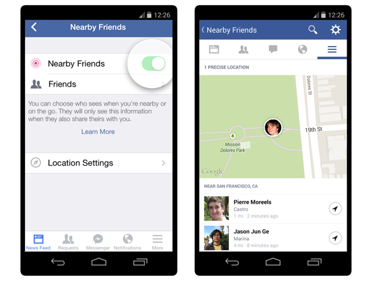 New Facebook 'Nearby Friends' Can Track Your GPS Location Continuously