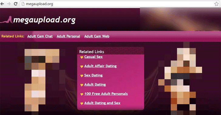 Seized Megaupload Domain Hijacked to Host Malicious Ads