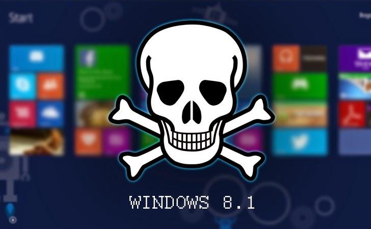 Google Researcher Reveals Zero-Day Windows 8.1 Vulnerability