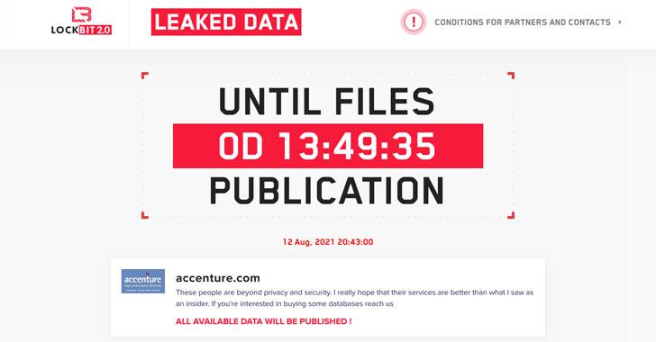 IT Giant Accenture Hit by LockBit Ransomware; Hackers Threaten to Leak Data