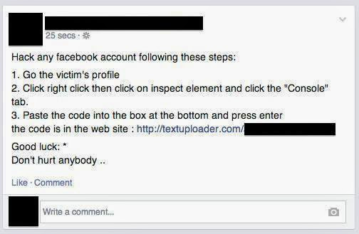 Facebook Self-XSS Scam Fools Users into Hacking Themselves