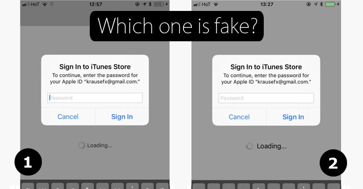 Watch Out! Difficult-to-Detect Phishing Attack Can Steal Your Apple ID Password