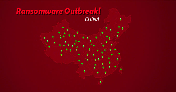 New Ransomware Spreading Rapidly in China Infected Over 100,000 PCs