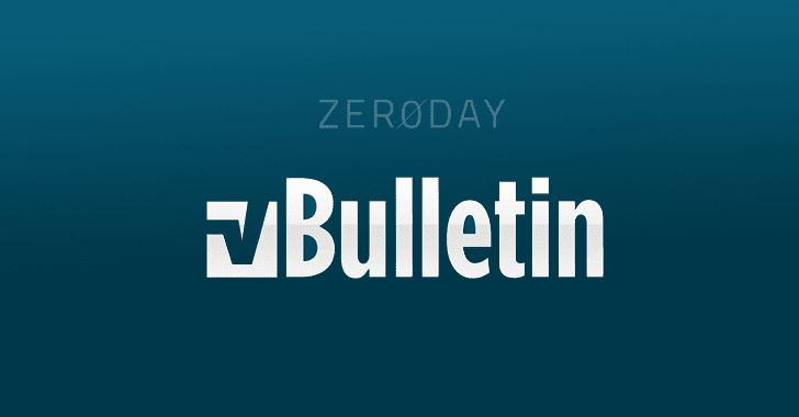 Two Critical 0-Day Remote Exploits for vBulletin Forum Disclosed Publicly