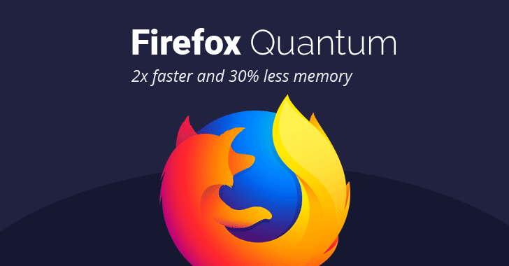 "Firefox 57 ""Quantum"" Released – 2x Faster Web Browser"