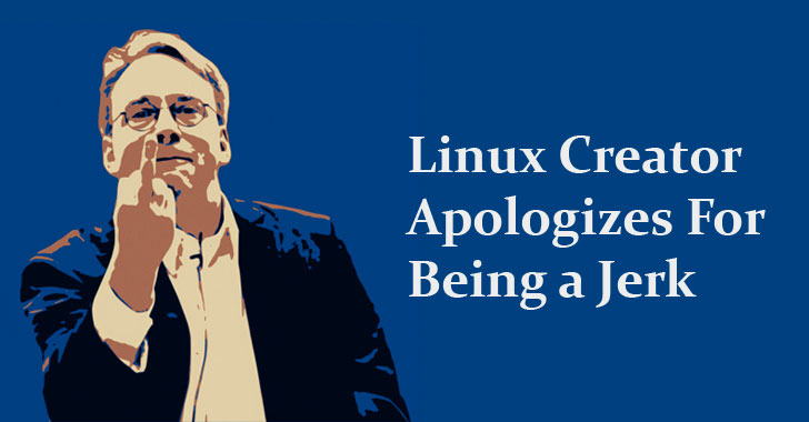 Linus Torvalds Apologizes For His Rude Behavior—Takes Time Off