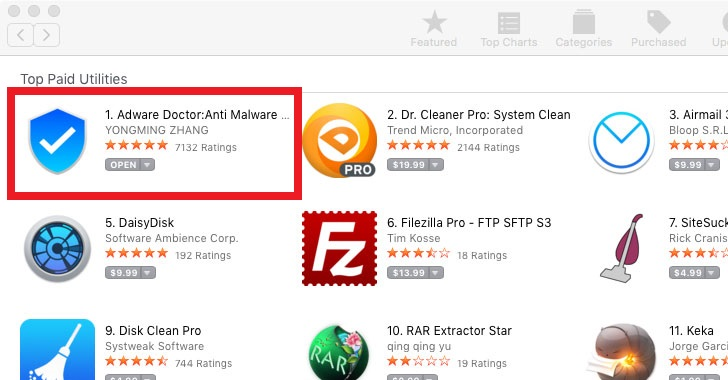 No.1 Adware Removal Tool On Apple App Store Caught Spying On Mac Users