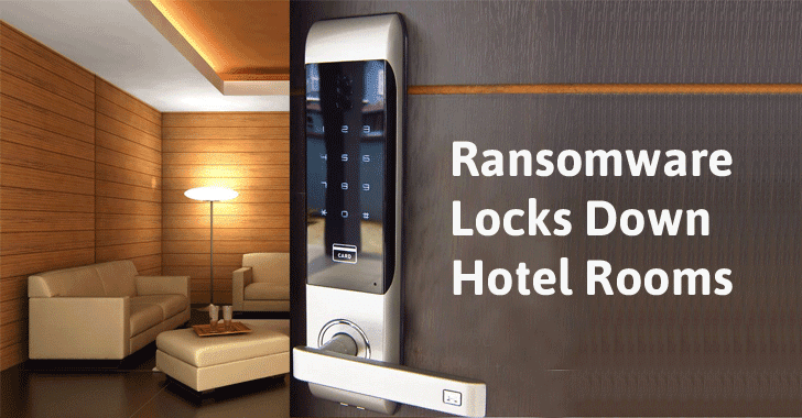 Ransomware Hijacks Hotel Smart Keys to Lock Guests In and Out of the Rooms