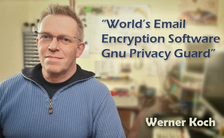 GnuPG Email Encryption Project Relies on 'Werner Koch'