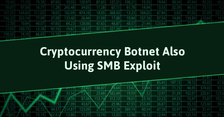 Weeks Before WannaCry, Cryptocurrency Mining Botnet Was Using Windows SMB Exploit