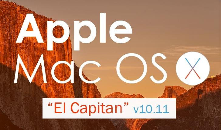 Apple Mac OS X 10.11 'El Capitan' unveiled at WWDC 2015