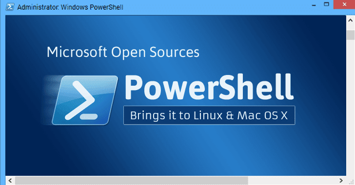 Microsoft Open Sources PowerShell; Now Available for Linux and Mac OS X