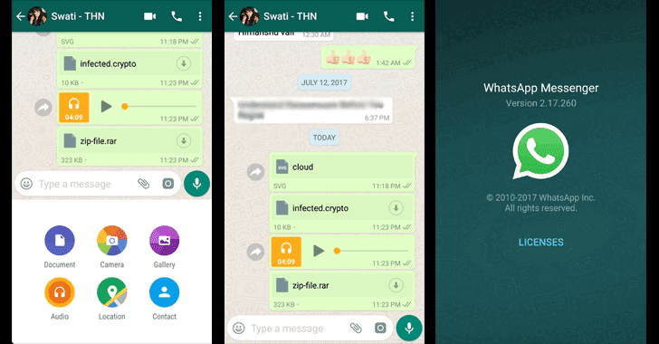 Awesome! WhatsApp Now Lets You Send Files of Any Format