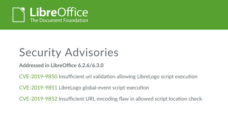 Patches for 2 Severe LibreOffice Flaws Bypassed — Update to Patch Again