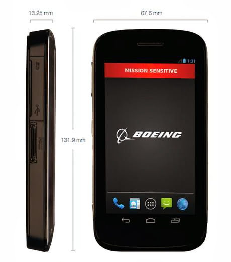 Boeing launches Ultra-Secure 'Black Smartphone' that can Self-Destruct