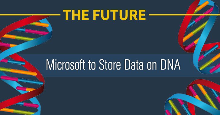 Microsoft to Store Data on DNA — 1,000,000,000 TB in Just a Gram