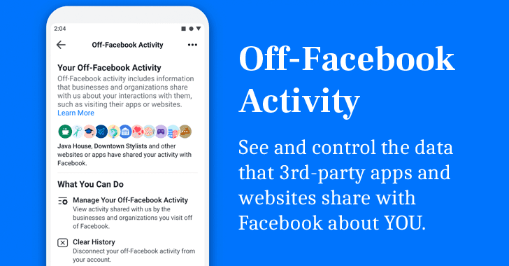clear off-facebook activity