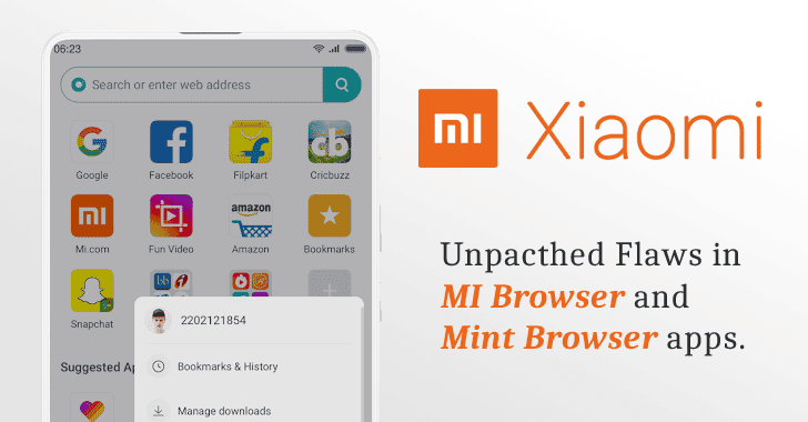 Unpatched Flaw in Xiaomi's Built-in Browser App Lets Hackers Spoof URLs
