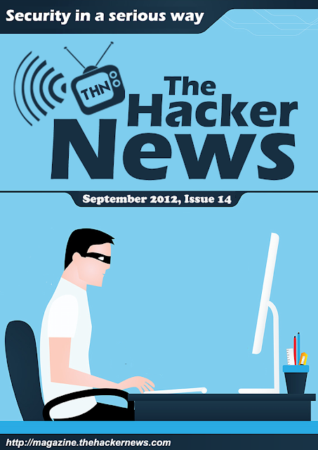 Security in a Serious Way - The Hacker News Magazine September 2012 Edition