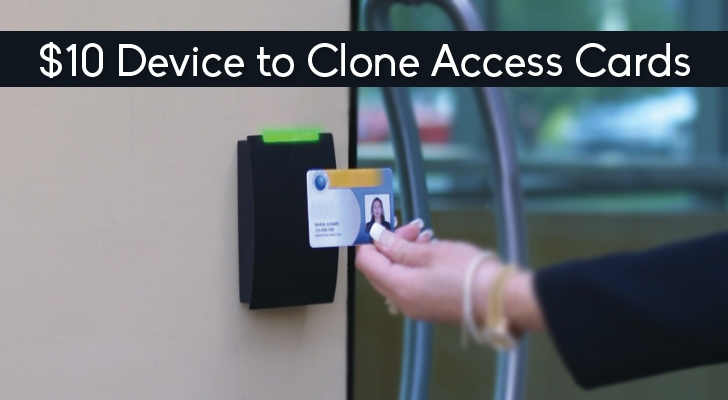 This $10 Device Can Clone RFID-equipped Access Cards Easily