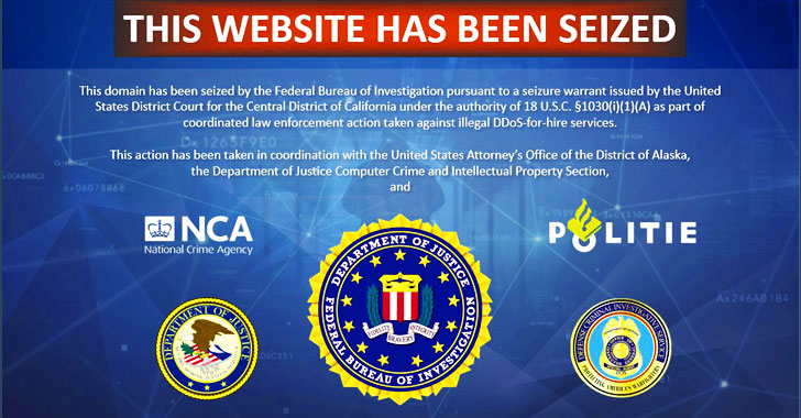 FBI Seizes 15 DDoS-For-Hire Websites, 3 Operators Charged