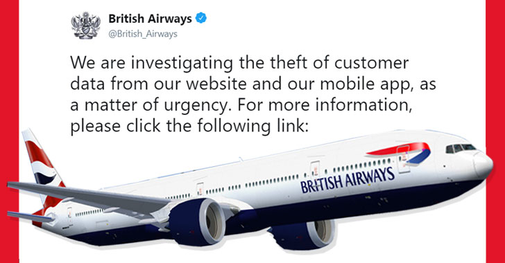 british airways data breach hack