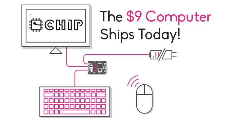The World's First $9 Computer is Shipping Today