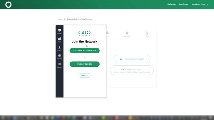 Cato Networks Software Defined Perimeter (SDP)