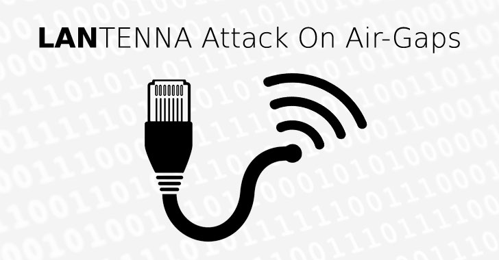 Creating Wireless Signals with Ethernet Cable to Steal Data from Air-Gapped Systems
